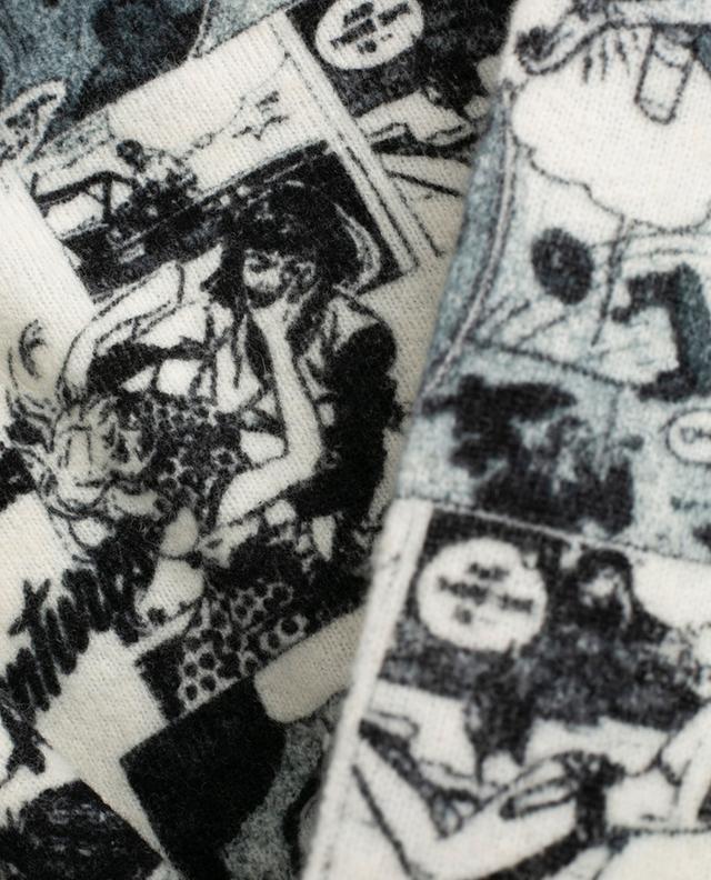 Pull doux imprimé bande dessinée PRINCESS