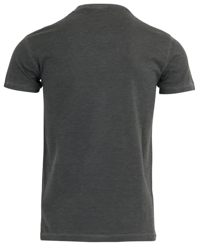 Chic Dan Fit slim T-shirt with logo flock print DSQUARED2