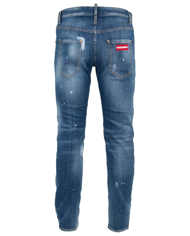Zerrissene Jeans Run Dan Underpatch DSQUARED2