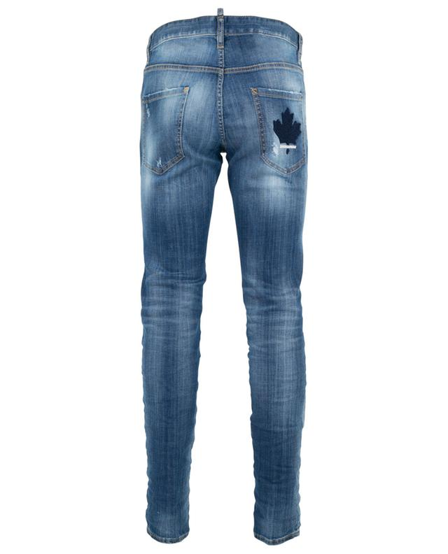 Used-Look Jeans mit Ahornblatt-Stickerei Cool Guy DSQUARED2