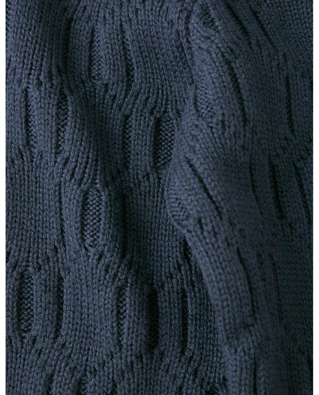 Zopfpullover aus Wolle ELEVENTY