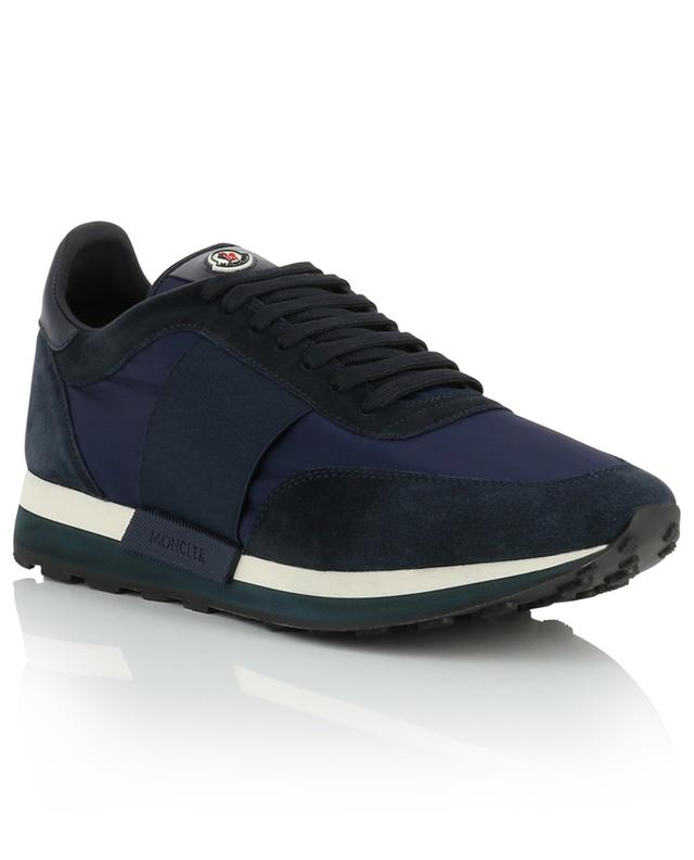 Horace nylon, suede and leather sneakers MONCLER