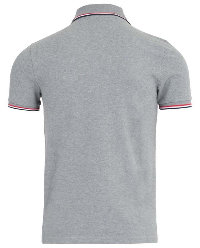 Kurzärmliges Polohemd aus Baumwollpiqué MONCLER