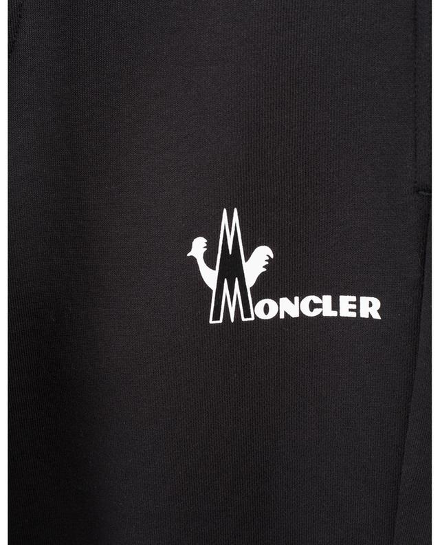 Moncler logo adorned cotton jogging trousers MONCLER