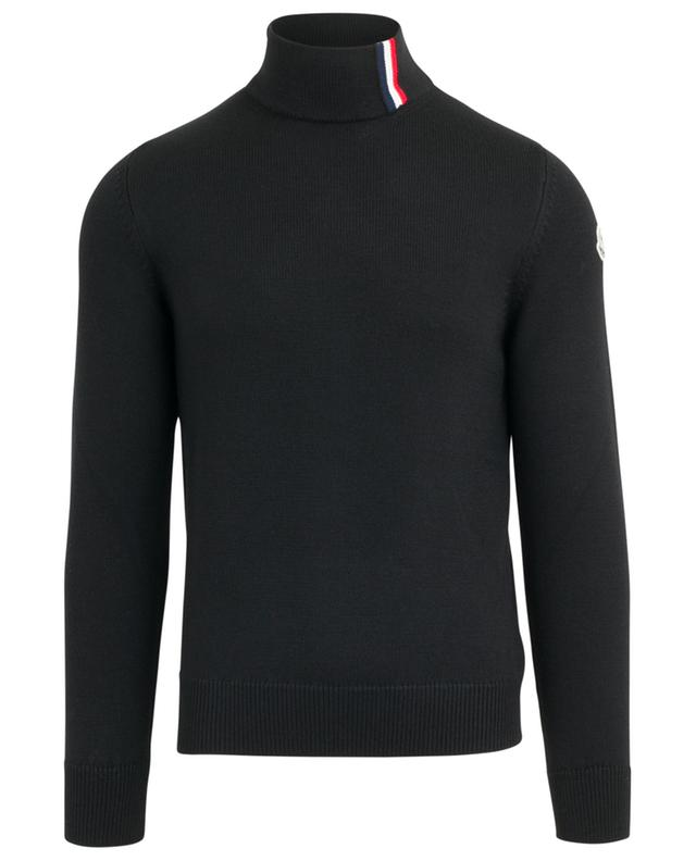 Virgin wool jumper with stand-up collar MONCLER