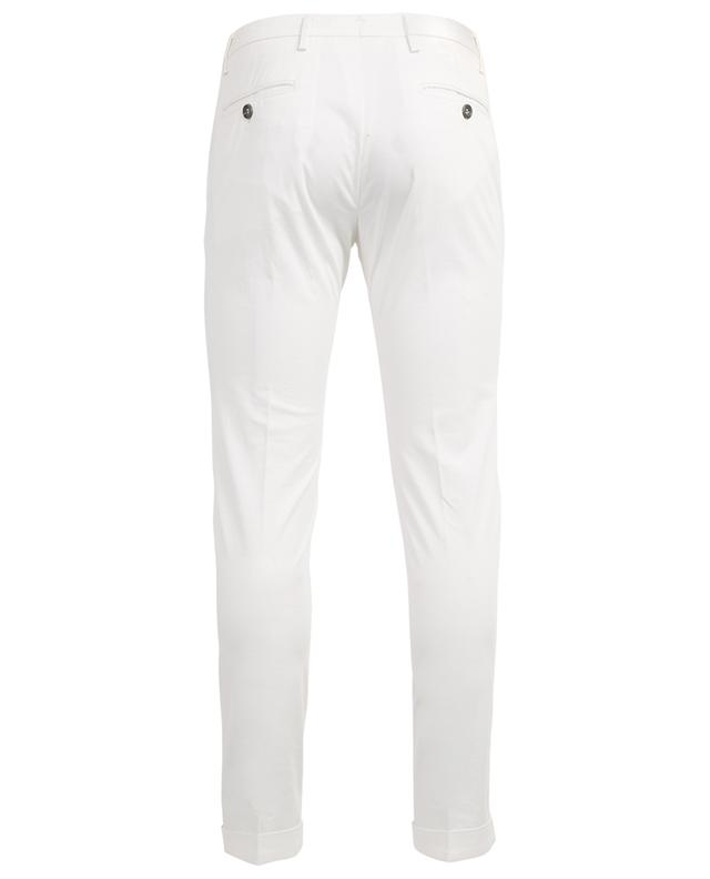 Pantalon chino slim à revers Lucky Pocket B SETTECENTO