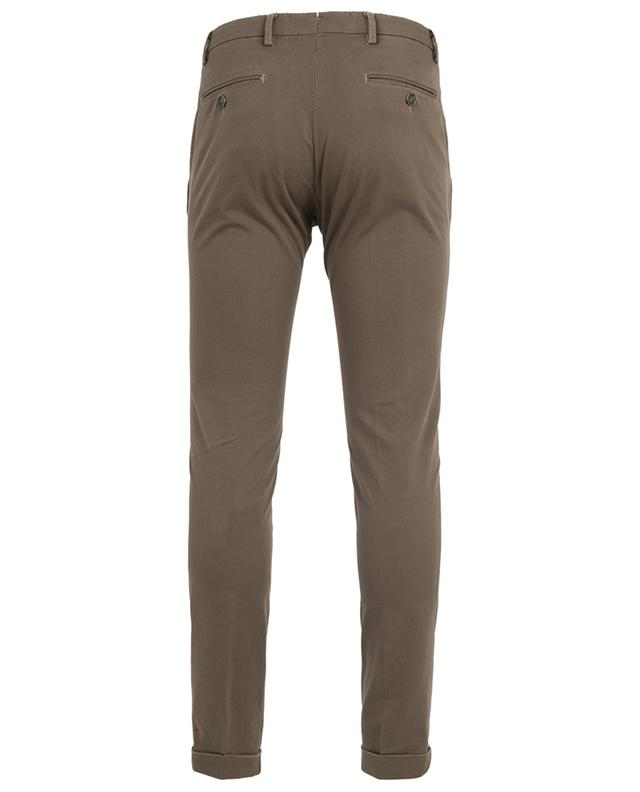 Pantalon slim en coton à pois B SETTECENTO
