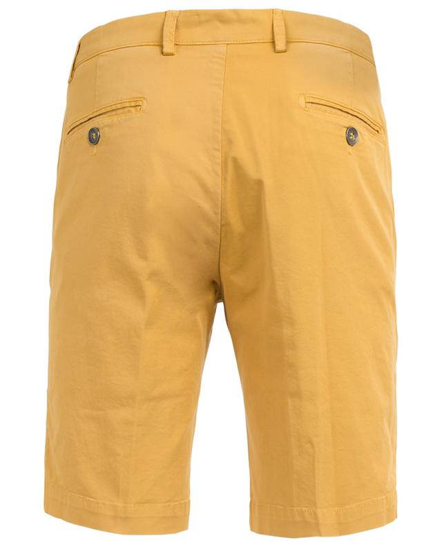 Cotton stretch slim fit Bermuda shorts B SETTECENTO
