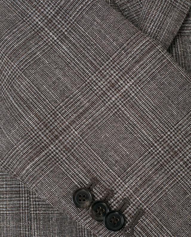 Silk, linen and wool lightweight blazer NAPOLI COUTURE