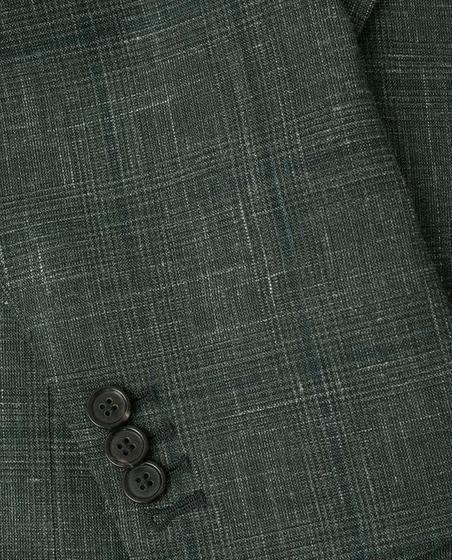 Blazer léger en laine, soie et lin NAPOLI COUTURE