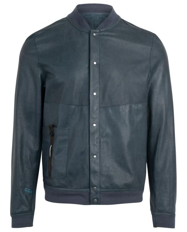Reversible leather jacket RUFFO