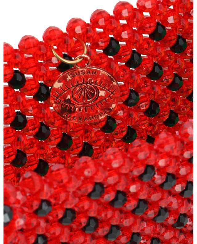 Watermelon Dream small beads handbag SUSAN ALEXANDRA