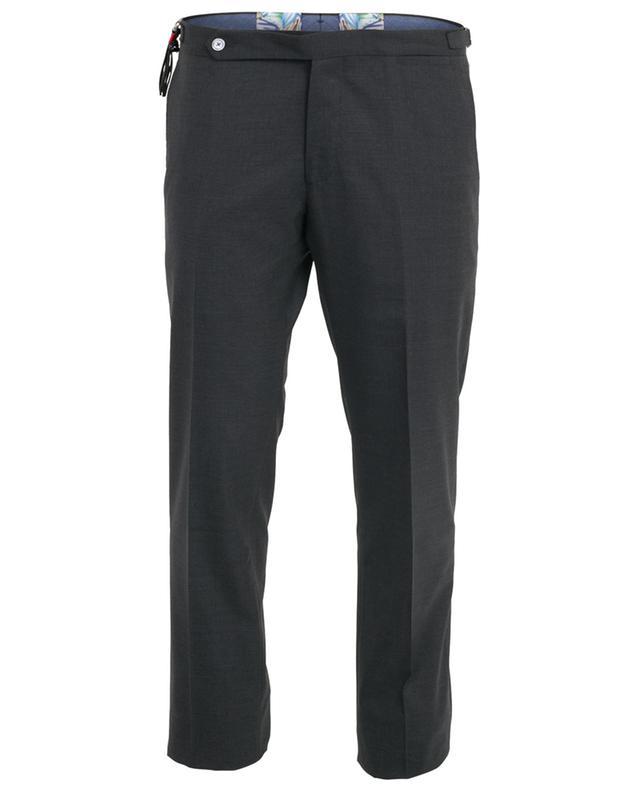 Slim fit virgin wool trousers MARCO PESCAROLO