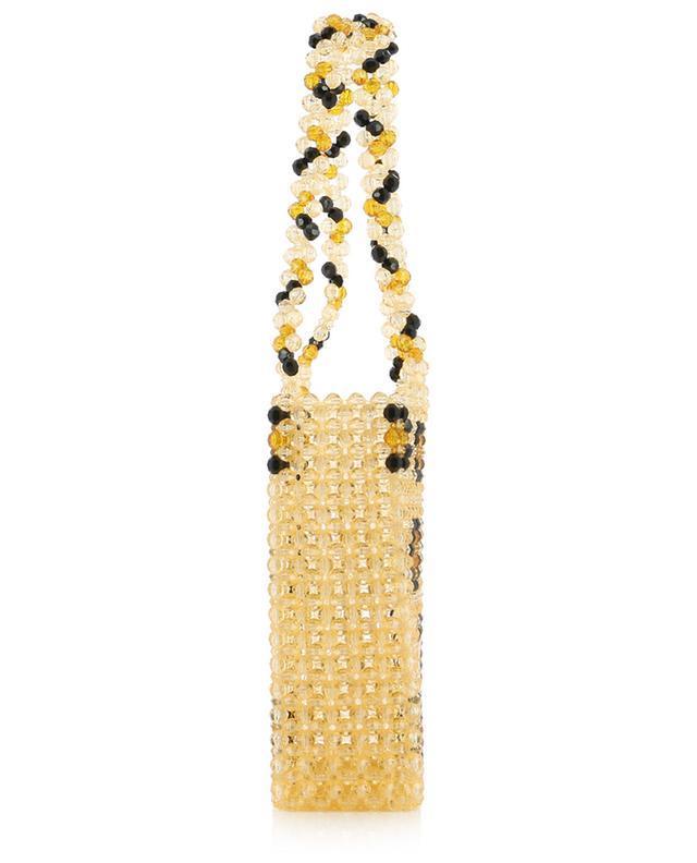 Leopard beads handbag SUSAN ALEXANDRA