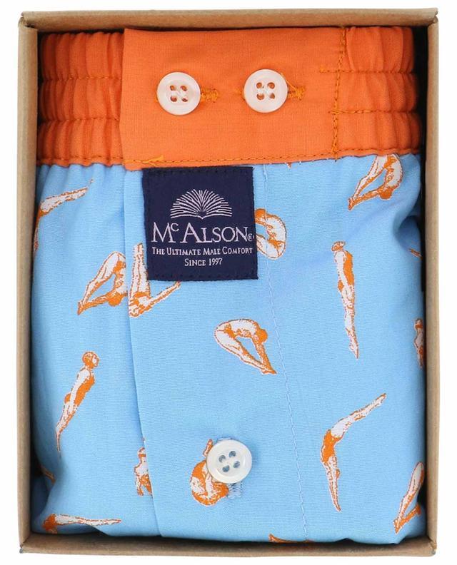 Printed cotton boxer shorts MC ALSON