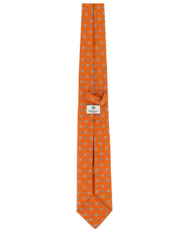 Cravate en soie imprimée BORRELLI