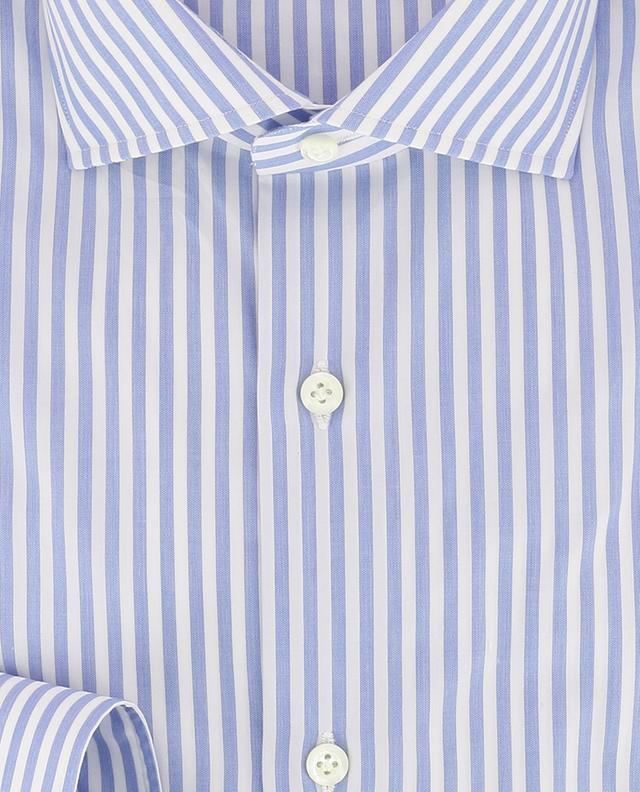 Fabio striped poplin shirt BORRELLI