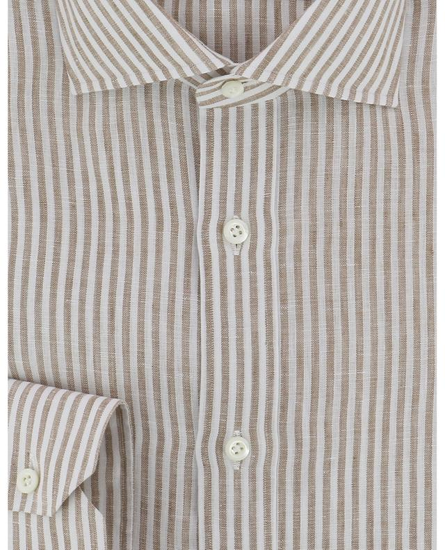 Fabio stripes linen shirt LUIGI BORRELLI
