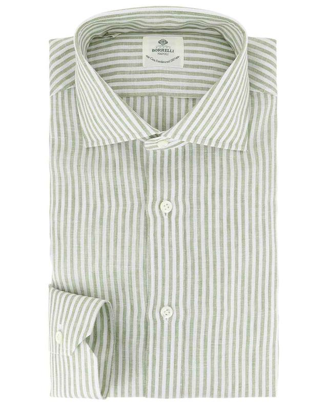 Fabio stripes linen shirt BORRELLI