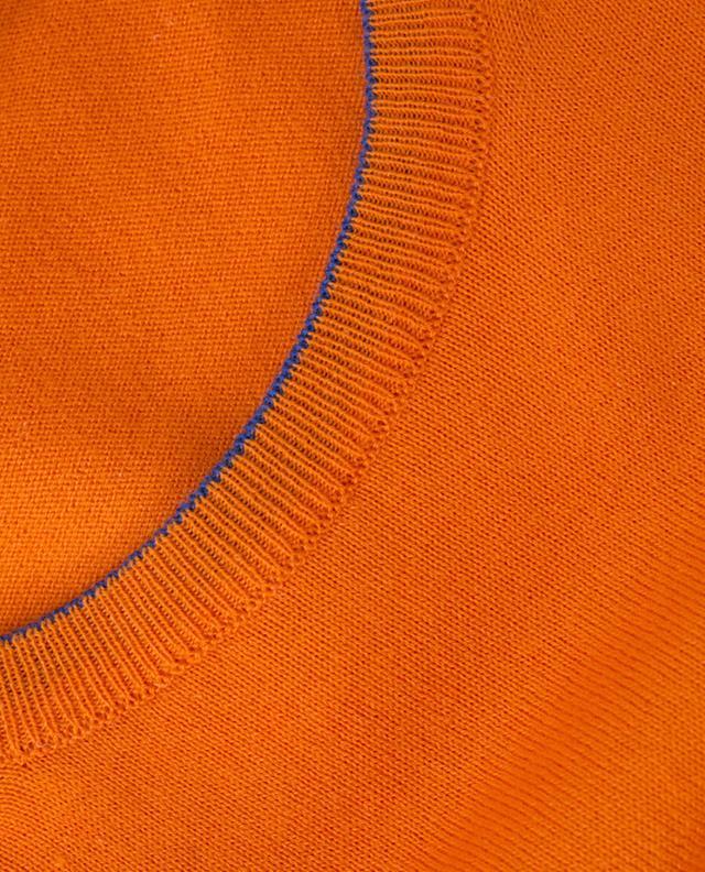 Fine cotton jumper BORRELLI