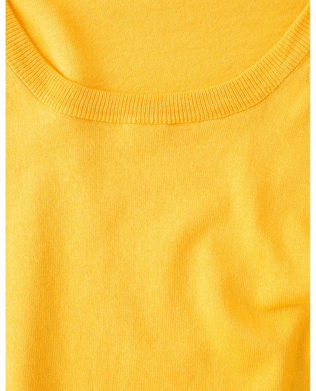 Round neck cotton jumper BORRELLI
