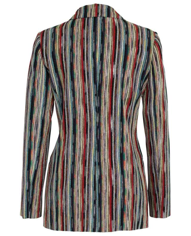 Multi-coloured knit blazer MISSONI
