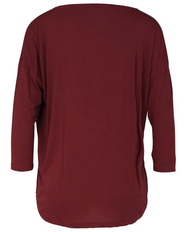 Long-sleeved viscose T-shirt MAJESTIC FILATURES