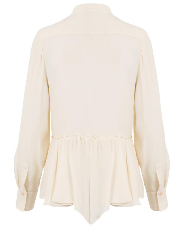 Crepe shirt with Mandarin collar SEE BY CHLOE