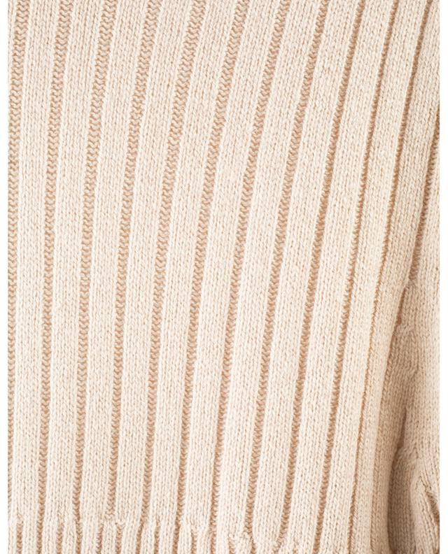 Robe pull côtelée à col montant SEE BY CHLOE