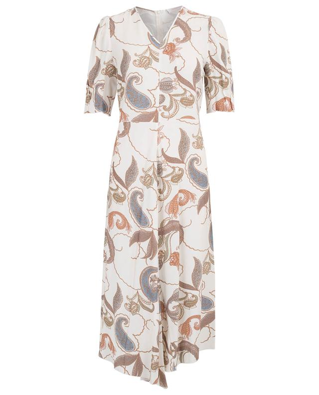 Paisley printed crepe dress SEE BY CHLOE