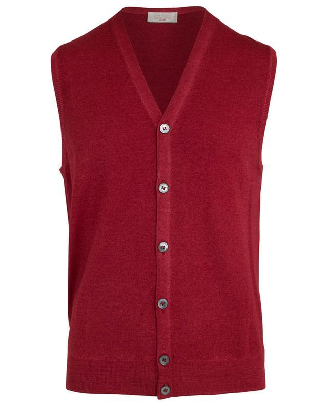 Virgin wool vest GRAN SASSO