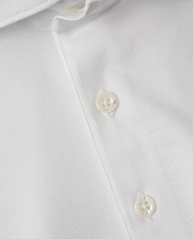 Polo slim en coton piqué à manches courtes GRAN SASSO