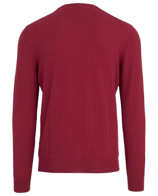 Textured cotton jumper GRAN SASSO