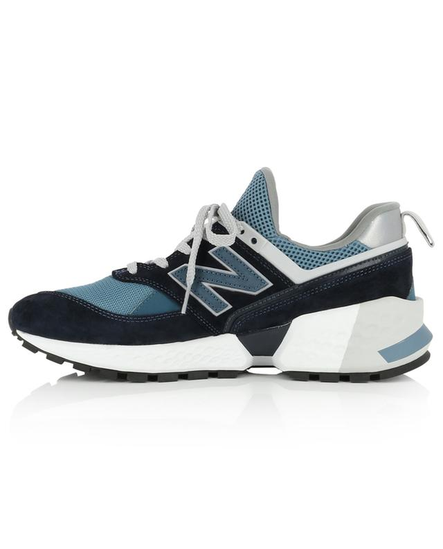 574 Sport suede and mesh sneakers NEW BALANCE