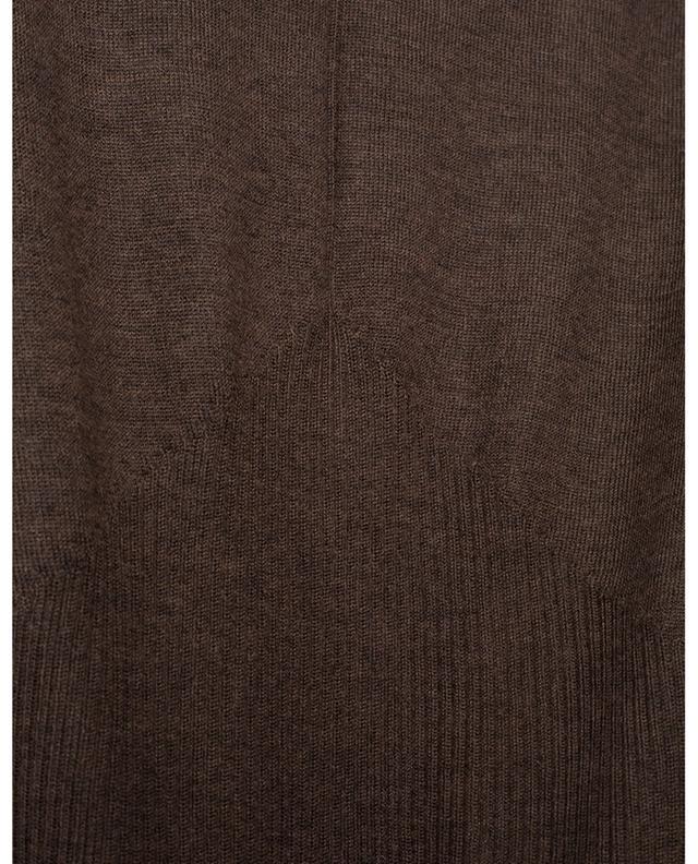 Triangle rib fine cashmere jumper LORENA ANTONIAZZI
