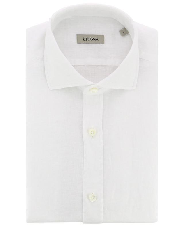 Slim fit linen shirt Z ZEGNA