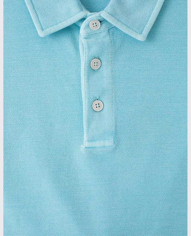 Piqué cotton polo shirt Z ZEGNA