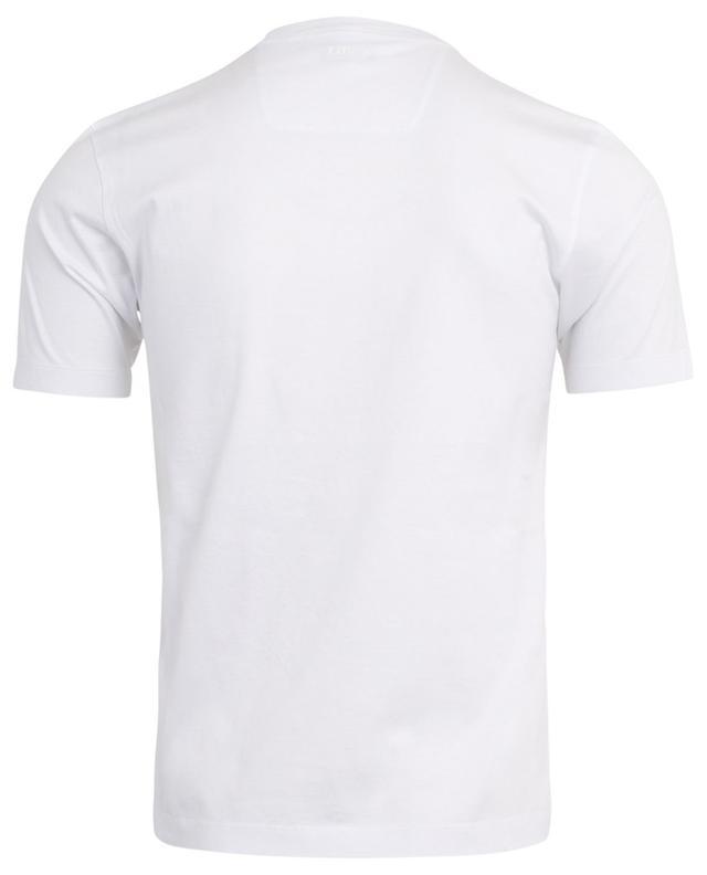 T-Shirt aus Baumwolle mit Print Z ZEGNA