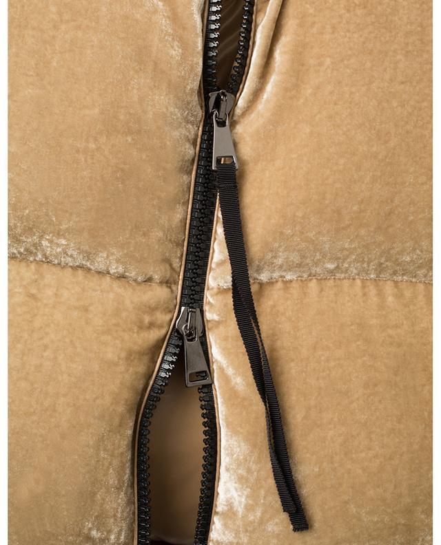 Rimac short velvet down jacket MONCLER