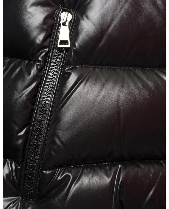 Taillierte Daunenjacke aus Lack-Nylon Rhin MONCLER