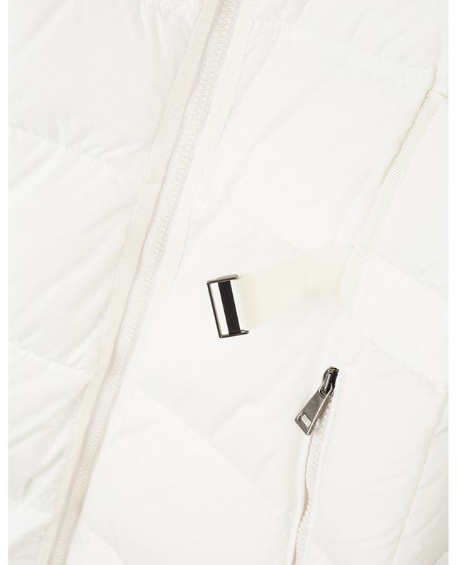 Lange ausgestellte Daunenjacke mit Gürtel Accenteur MONCLER
