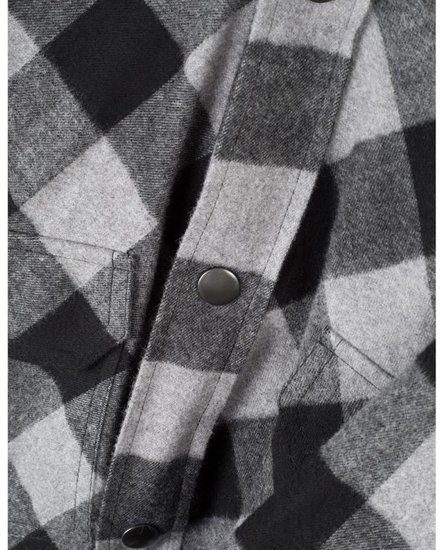 Chemise à carreau rembourrée New Swing Canadian BALENCIAGA