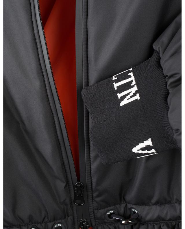 VLTN ruffled A-line bomber jacket VALENTINO