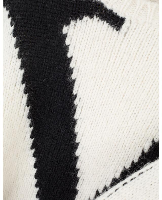 Kurzer Pullover aus Alpakamix VLOGO VALENTINO
