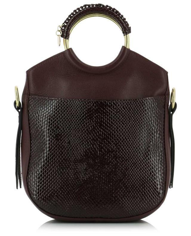 Sac bandoulière effet python Monroe Day SEE BY CHLOE