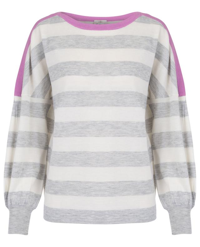Pull rayé col bateau Seacell Cashmere FTC CASHMERE