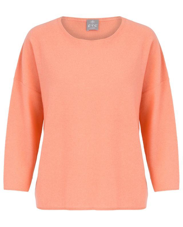 Lightweight moss knit cashmere jumper FTC CASHMERE