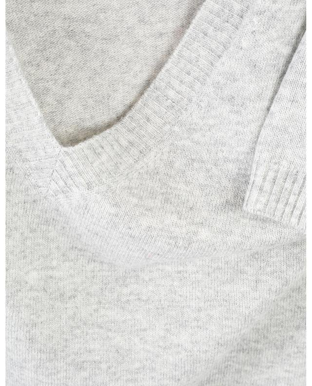 Seacell Cashmere curved hem jumper FTC CASHMERE