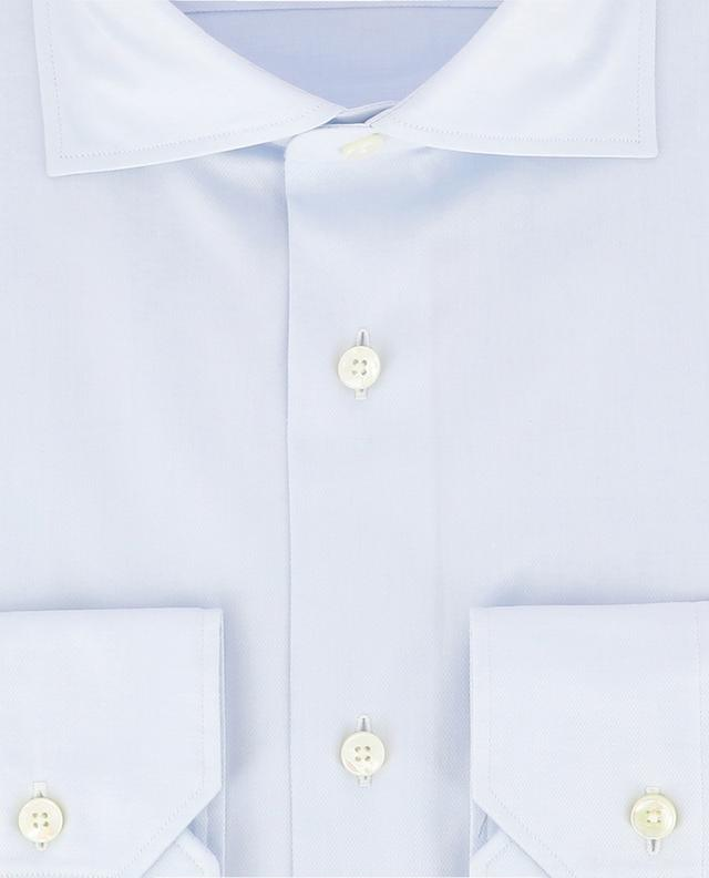 Milano textured cotton shirt ERMENEGILDO ZEGNA