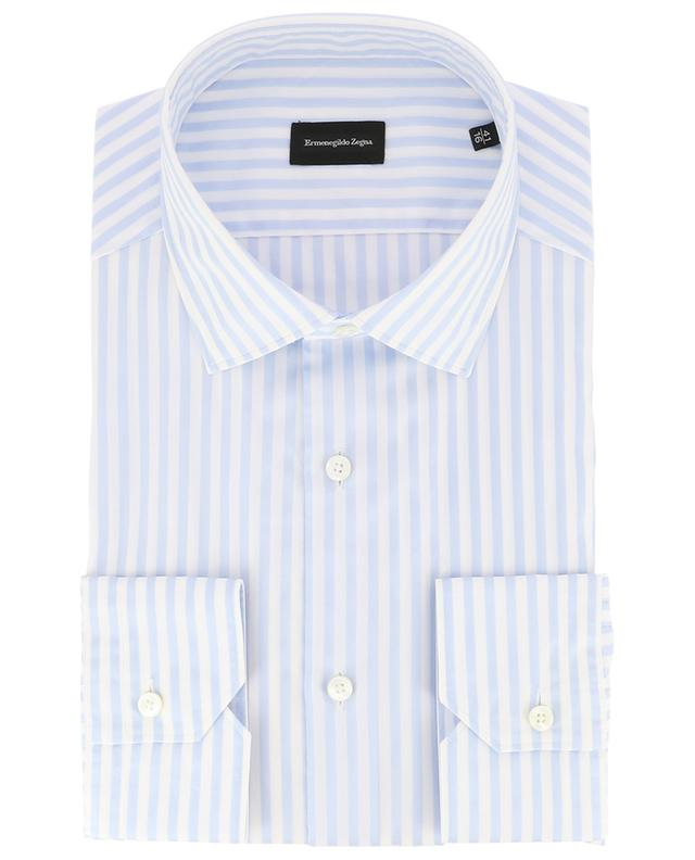 Milano striped slim fit shirt ERMENEGILDO ZEGNA